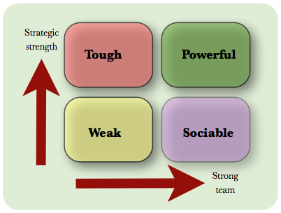 business team development model